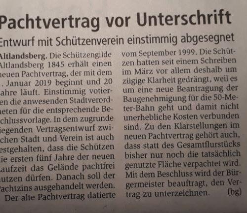 Märkische Oderzeitung vom 14.12.2018